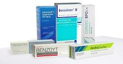 Aknemittel mit Benzoylperoxid