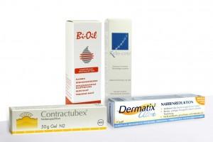 Hautprodukte zur Narbenbehandlung